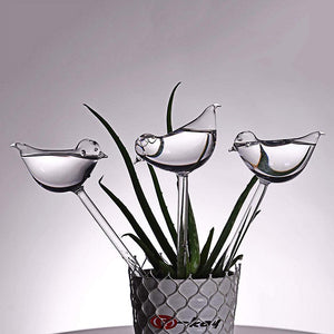 3 Pack Plant Self Watering Bird Shape Bulbs Plant Self Watering Bulbs MojoTrend