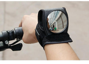 Bicycle Handlebar Wrist Mirror Safety Back Rear View Wrist Mirror MojoTrend