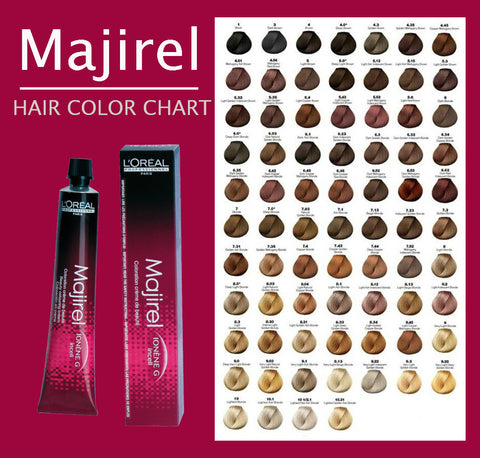 Majirel by l 39 oreal salon supplies dublin for Loreal salon price list