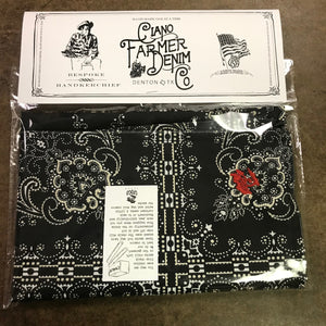 100% Cotton Handkerchief Printed Large 27.5 x 27.5 Embroidery