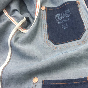 13oz 1968 Cone Mills Denim Car Coat
