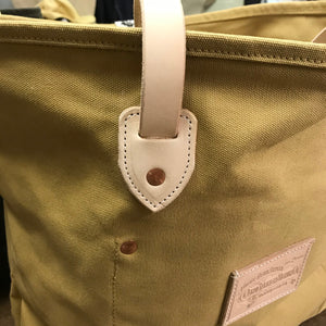 18oz Duck Canvas Hand Tote Lite Ochre