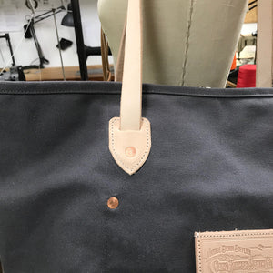 18oz Duck Canvas Hand Tote Grey