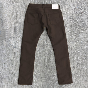 18oz Duck Canvas Brown 5 POCKET Version