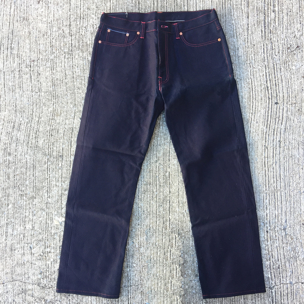 OPSTK 15oz Duck Canvas Indigo Selvage Red 5 Pocket 38W 33L 997 Miner Fit