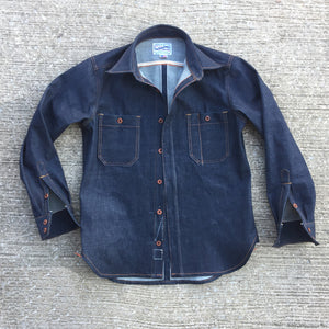 14oz TEXAS Denim Lot#12 Red Selvage WORKSHIRT