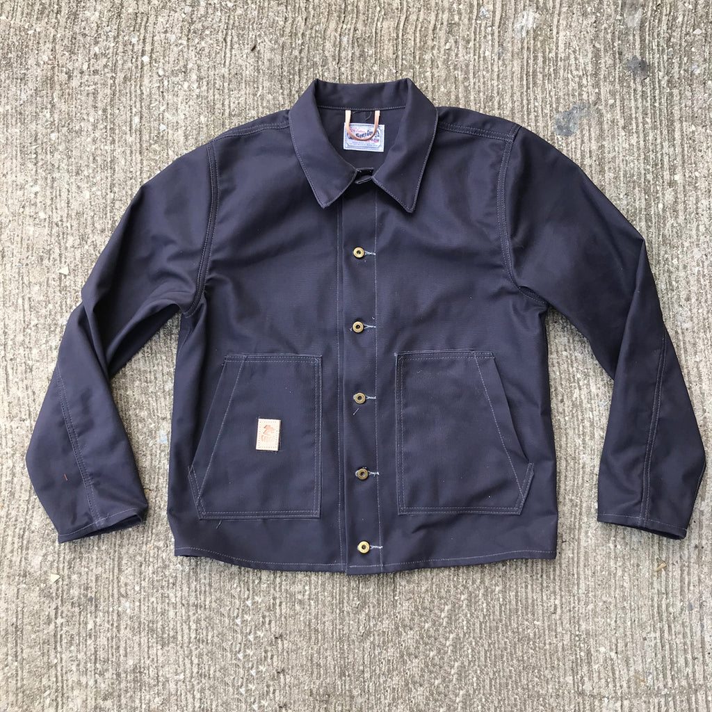OPSTK 12oz Duck Canvas Farm hand Jacket Blue Grey MED REG FIT