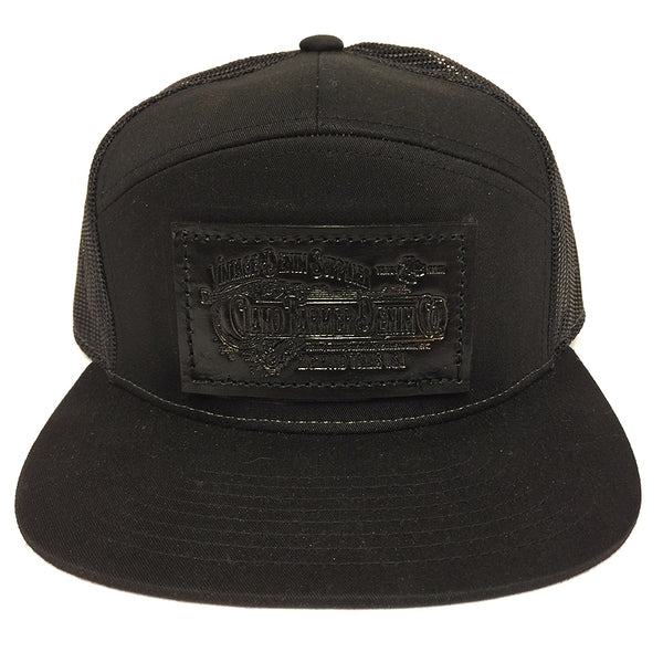 USA CFDCo Black/Black Trucker Snapback HAT