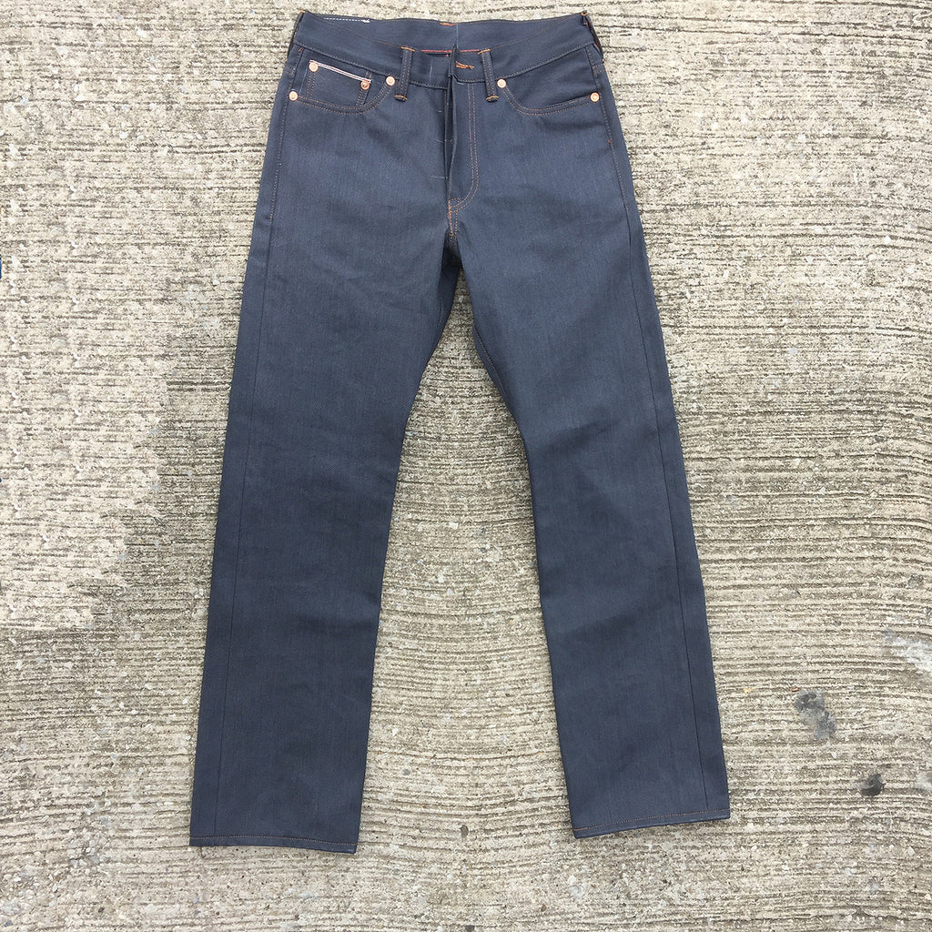 12oz Japanese Slate Red Selvage