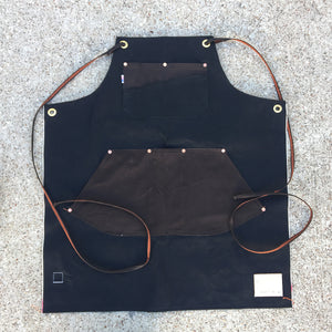 14oz Black TEXAS Selvage Denim Apron [ LIMITED QUANTITY ]