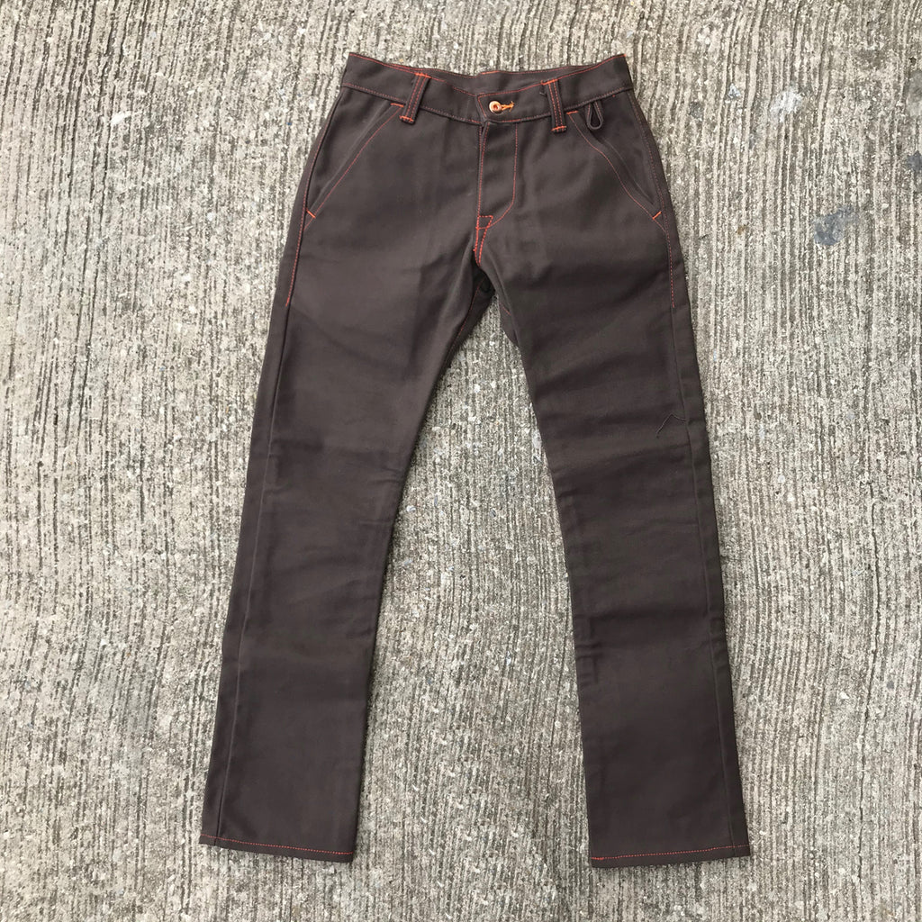 OPSTK 18oz Duck Canvas BROWN Fieldhand 28W 31L 901 Slim Fit