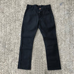 OPSTK 18oz Duck Canvas BLACK Fieldhand 28W 30L 901 Slim Fit