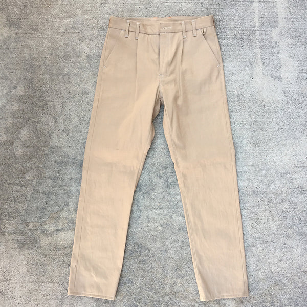 11oz Japanese Khaki Twill Selvage Chino