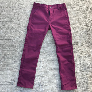 18oz Duck Canvas Maroon CHINO Version
