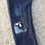 DENIM Repair. PATCHWORK Darning!