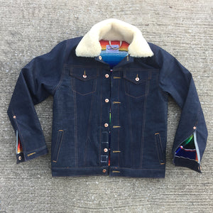 13.5oz 1968 Cone Mills 1967 Type III Jacket [ Modify ]