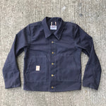 OPSTK 12oz Duck Canvas Farm hand Jacket Blue Grey LRG Slim FIT