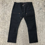 OPSTK 18oz Duck Canvas BLACK Fieldhand 36W 31L 901 Slim Fit