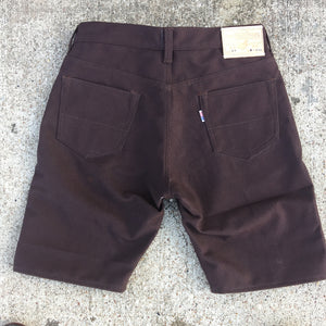 18oz Duck Canvas Brown 5 POCKET Version SHORT