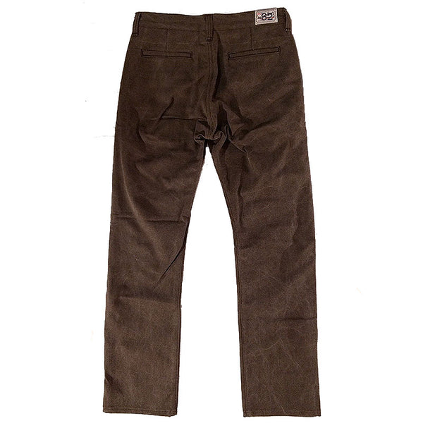 15oz OPSTK Laser Stone Washed Almond Duck Canvas Chino 32W 35L 997 Miner Fit