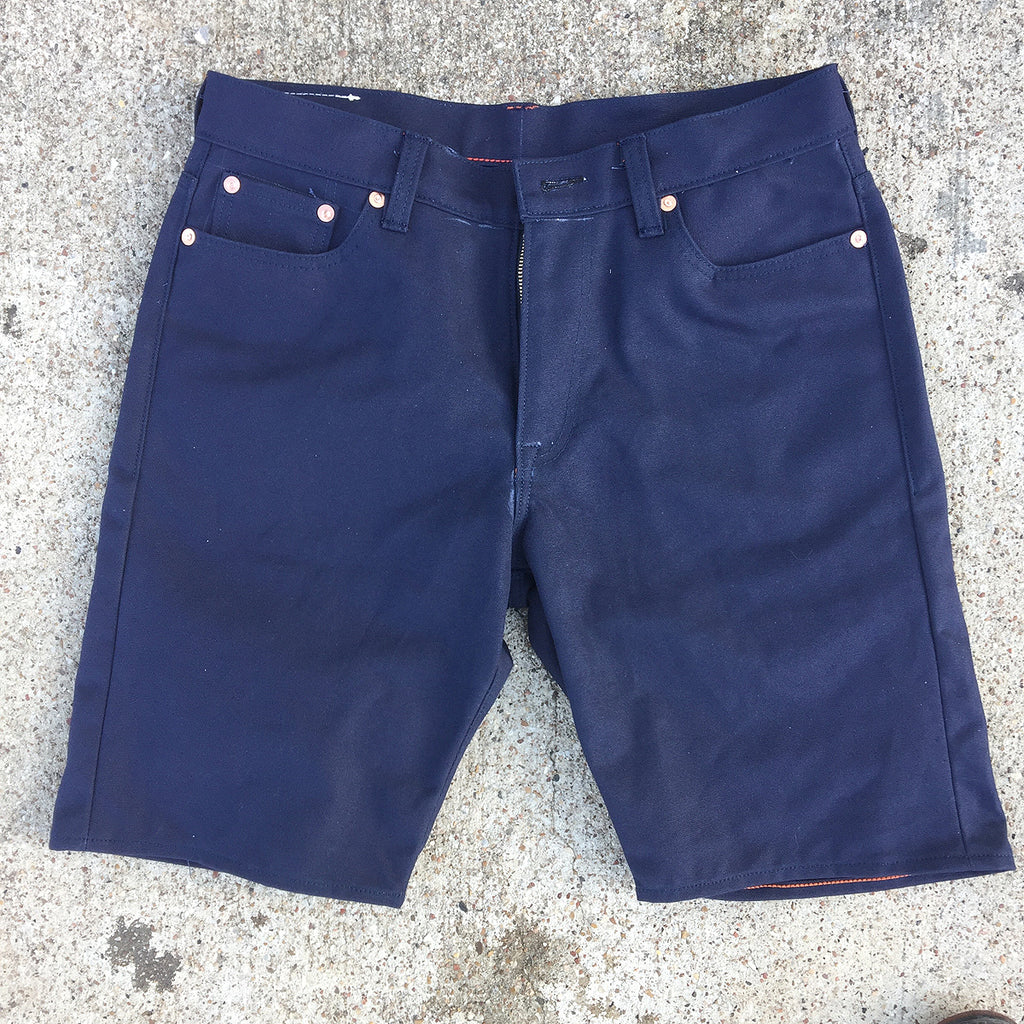 18oz OPSTK Duck Canvas NAVY SHORT 34W 10 1/2 L 905 REG Fit