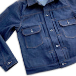 13.5oz 1968 Indigo Cone Mills Selvage 1953 Type II Jacket  {Limited Quantities}