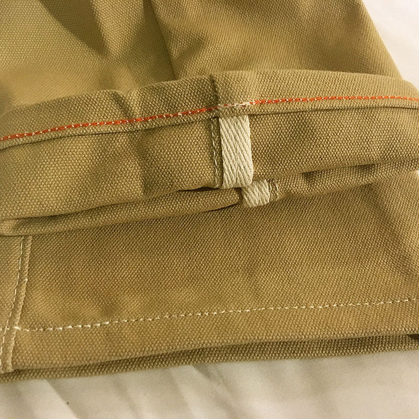 18oz OPSTK Duck Canvas Khaki Chino 28W 32L Slim Fit