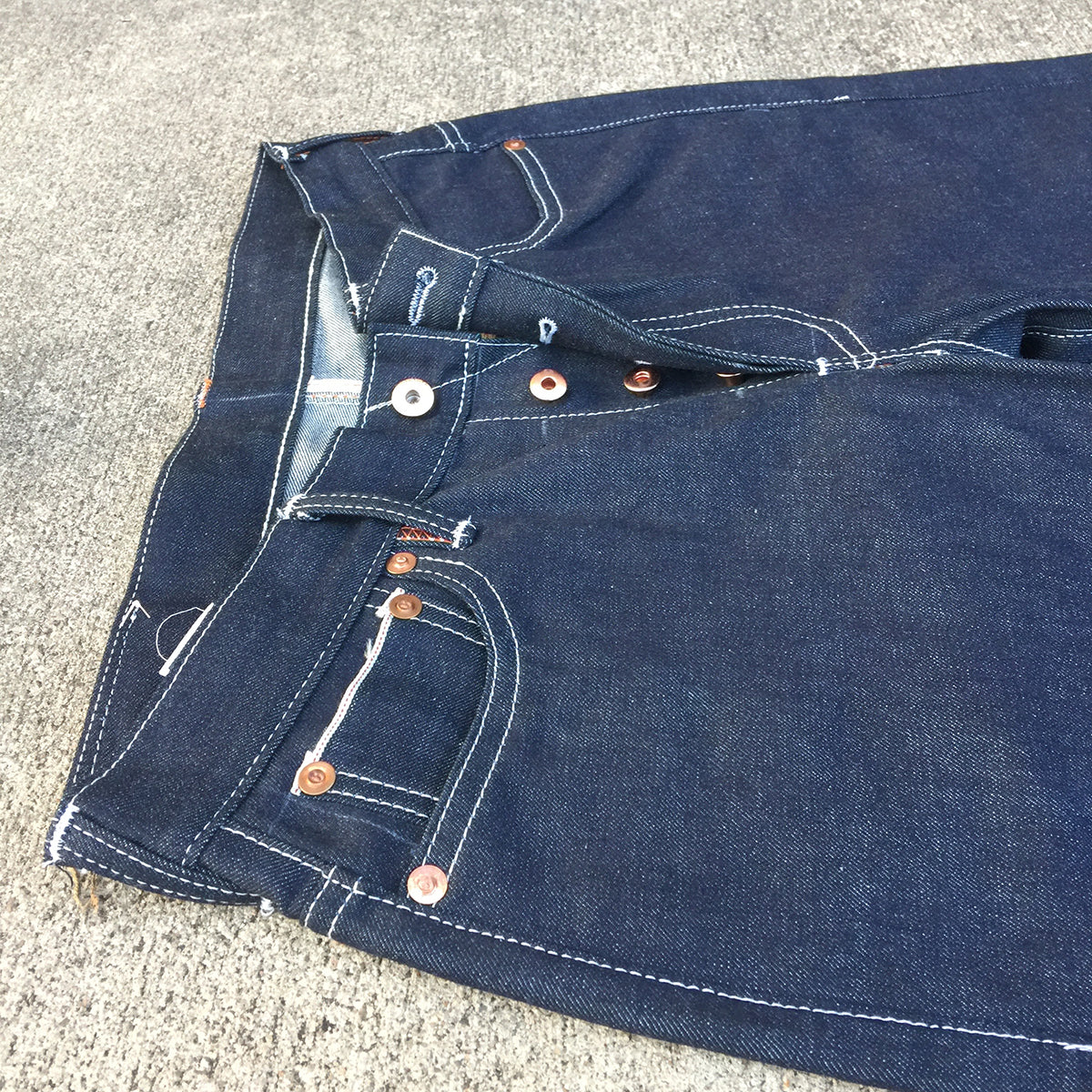 14oz TEXAS Denim Lot#14 Red Selvage