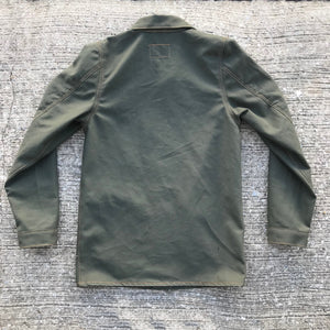OPSTK Lee Style Modify 12oz Moss Green Duck Canvas Car Coat XS SLIM FIT