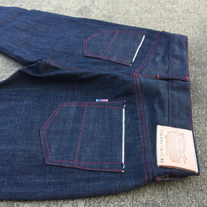 "15oz TEXAS Denim ""NATURAL"" Lot#7 Red Selvage"