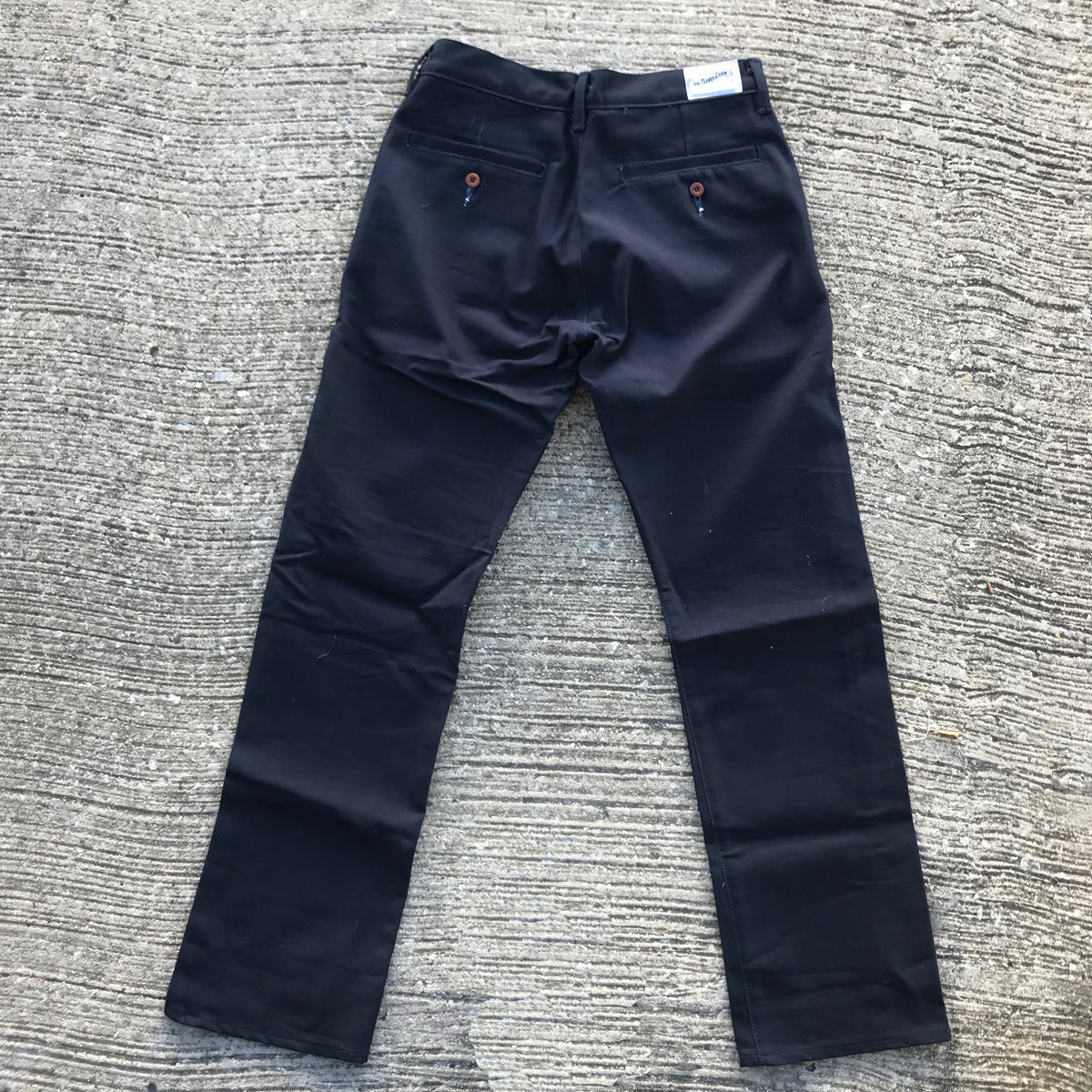 OPSTK 12oz Duck Canvas NAVY Chino 30W x 33L 905 Regular Fit