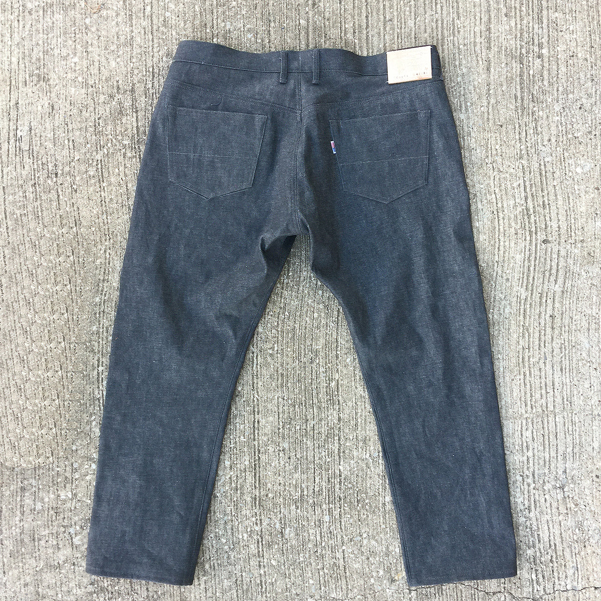 14oz Japanese Grey Red Selvage