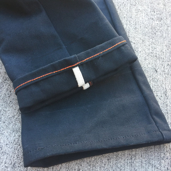 18oz Duck Canvas Black 5 POCKET Version