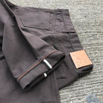 OPSTK 18oz Duck Canvas Brown 5 Pocket 36W 35L 901 Slim Fit