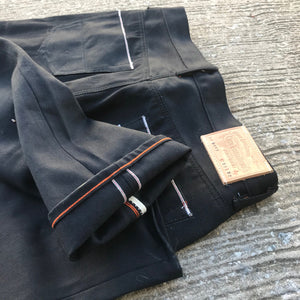 14oz Italian Double Black Red/White Selvage