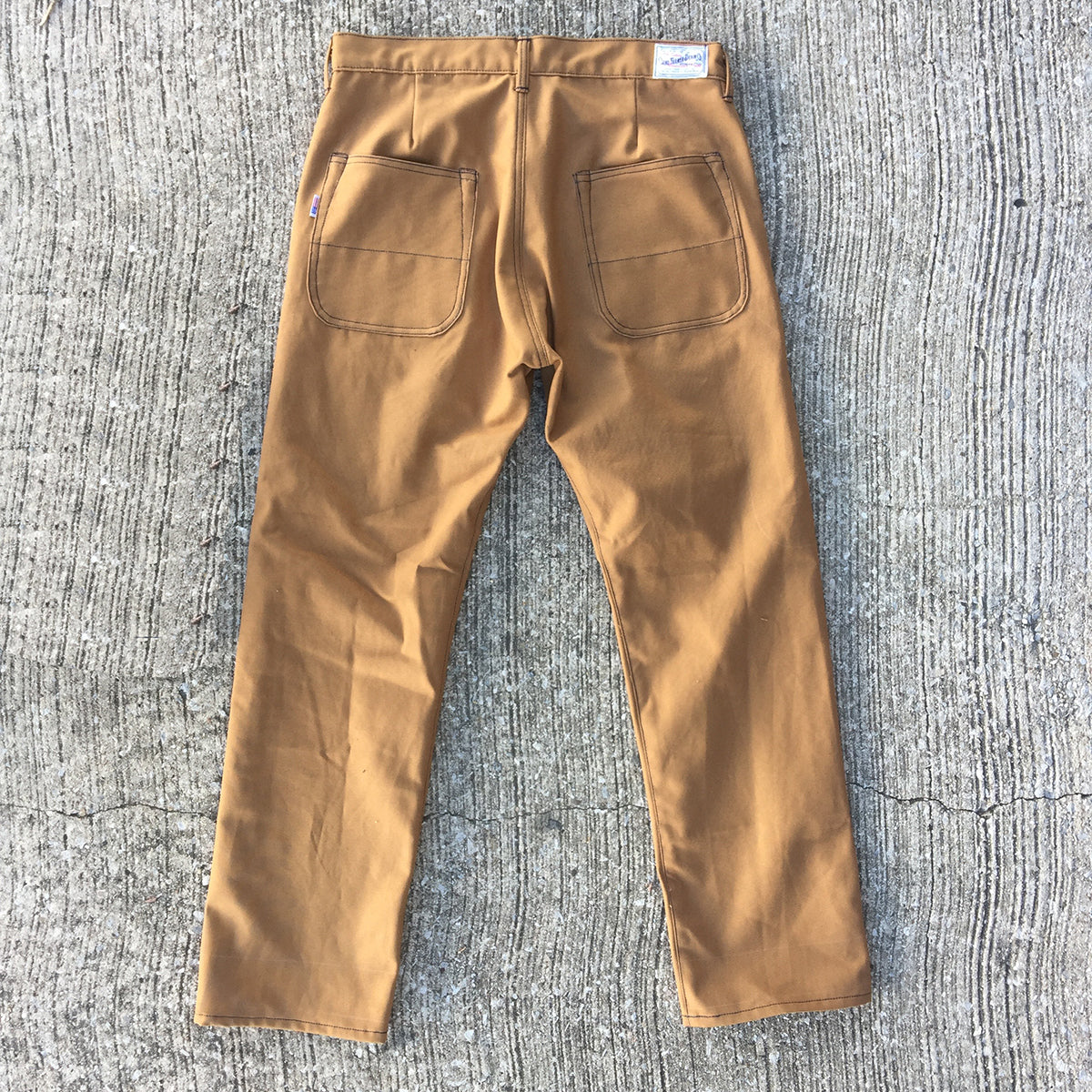 12oz Duck Canvas FIELD HAND Chino [ Back Patch Pockets ]