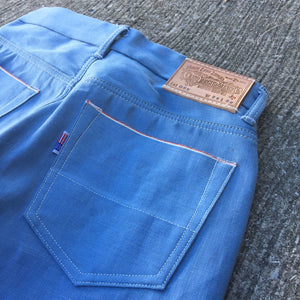14oz Japanese 70's Vintage Oshkosh Blue