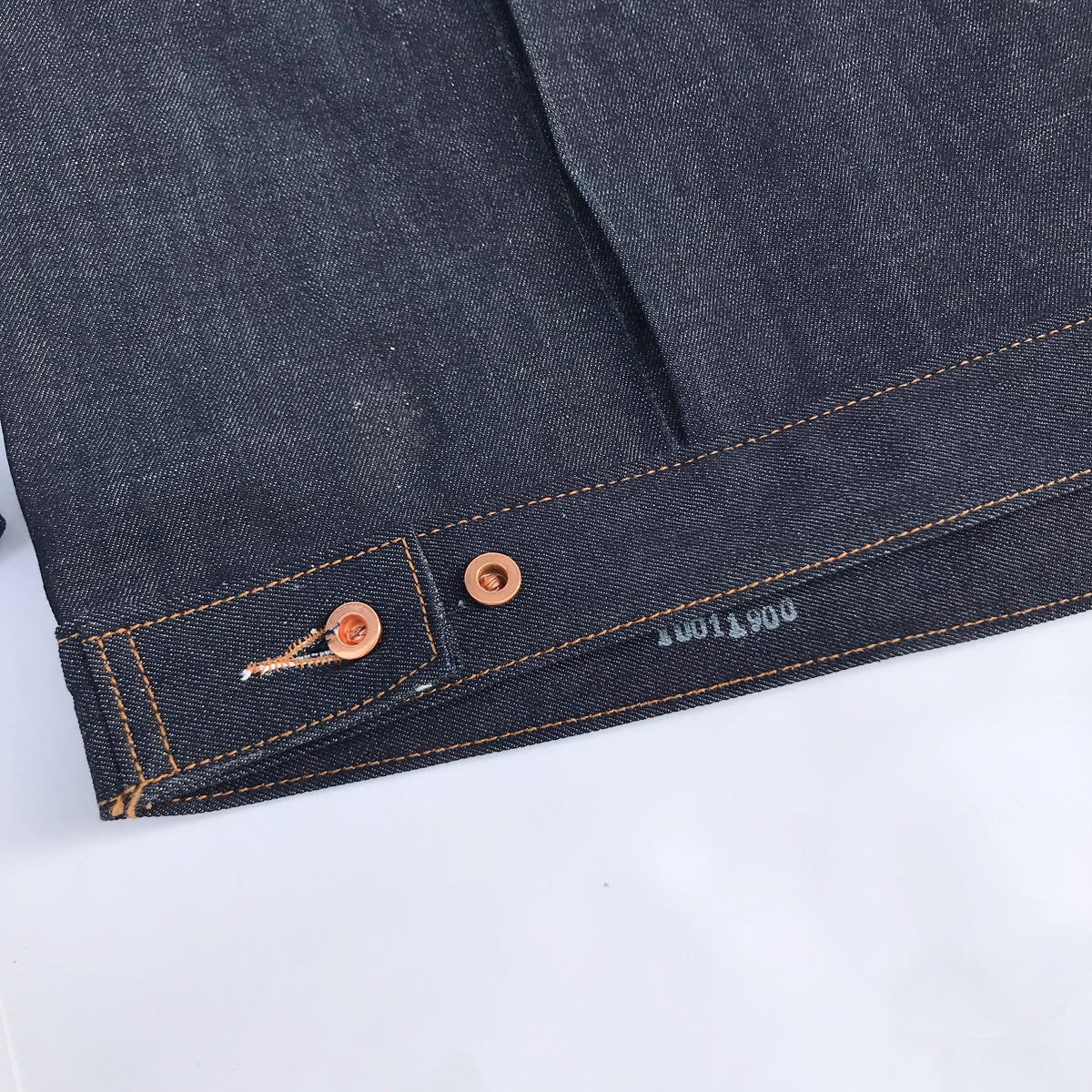14oz Indigo Cone Mills White Selvage 1953 Type II Jacket  {Limited Quantities}