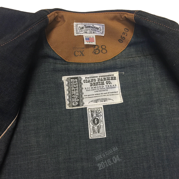 DEAD STOCK 13oz Japanese Selvage Denim Western Waistcoat