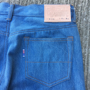 12oz Laser Stone Washed Indigo Japanese Red Selvage