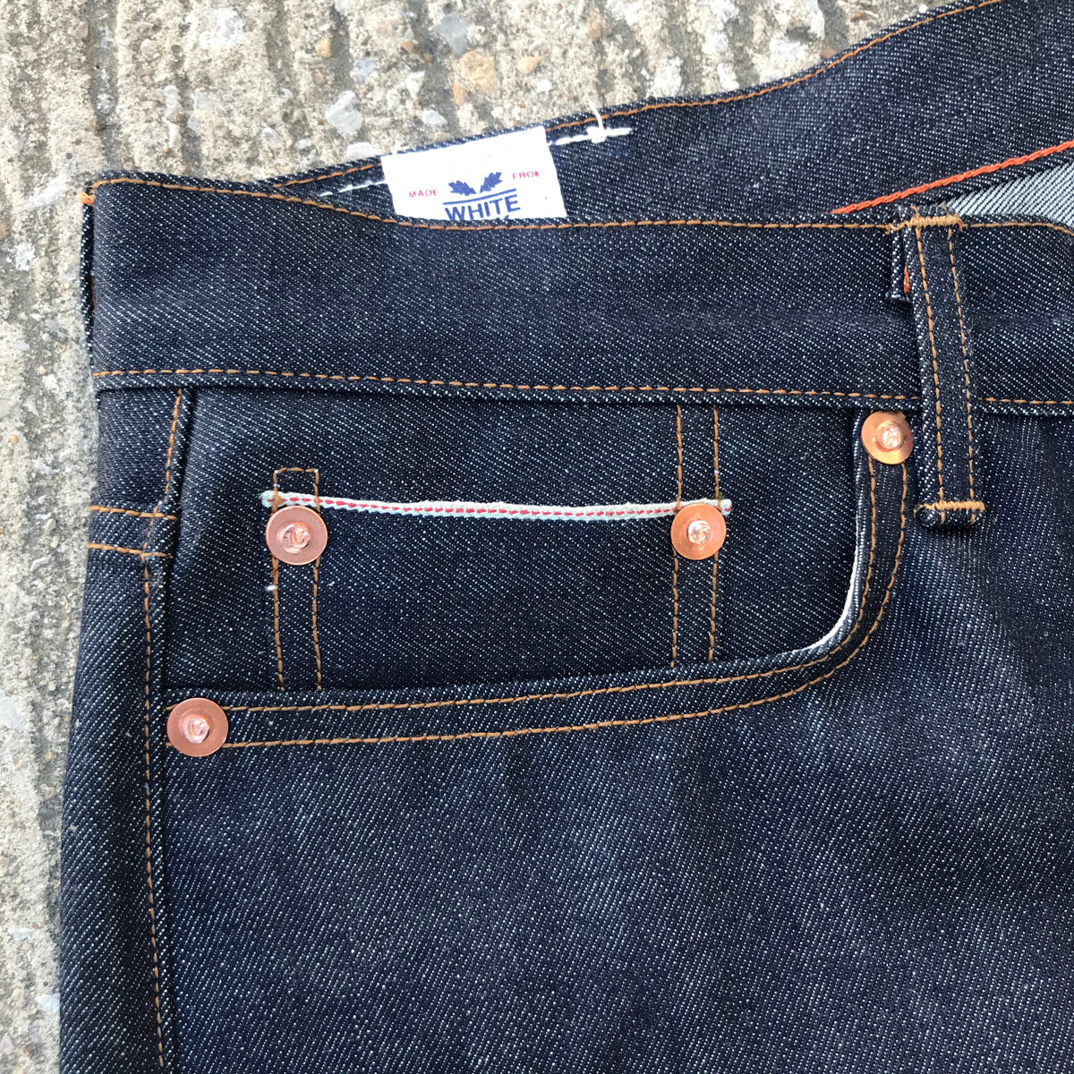 """IN STOCK NOW"" 13.5oz Indigo Cone Mills [ 901 Slim fit ONLY ]"