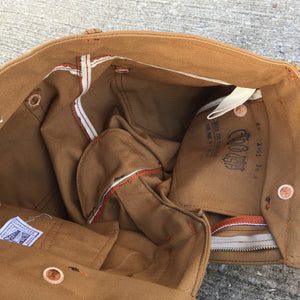 12oz Duck Canvas Ochre 5 POCKET Version