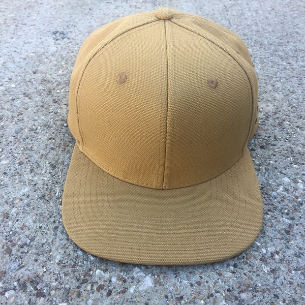 12oz USA Duck Canvas Snapback HAT Embroidery Patch