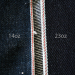Type III 1967 Modify Jacket 23oz Heavy Japanese Indigo Pink Selvage