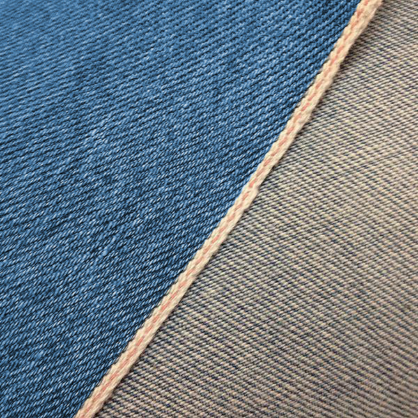 12oz Laser Stone Washed Indigo Japanese Red Selvage FIELDHAND Waistcoat