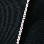 23oz Heavy Japanese Black Pink Selvage