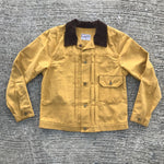 "OPSTK 12oz Mustard WAX ""Workman"" Duck Canvas TYPE 1 SML Reg Fit"