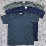 "TEXAS MADE Tee Crew Neck ""Pocket"" 3 Pack Special ""PICK YOUR OWN 3 COLORS"""