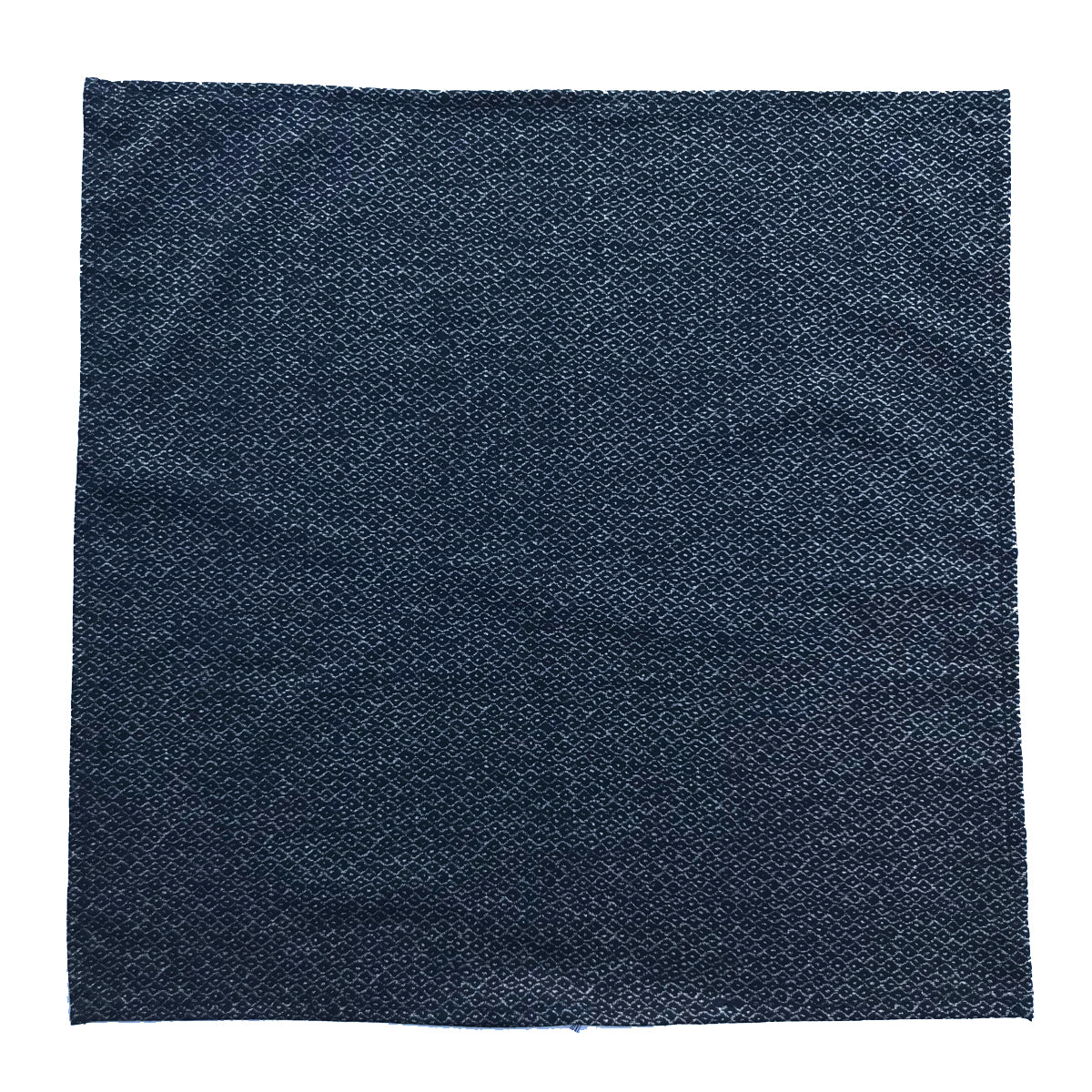 "Japanese Nara Cotton Canvas Indigo Handkerchief 27.5 x 27.5 ""TREL"""