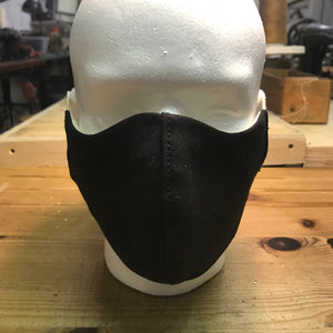 "CFDCo ""ELASTIC Baine"" Face Mask Type2 100% Cotton 12oz Duck Canvas-Black"